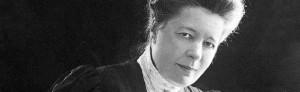 Selma Lagerlšf i 50-ŒrsŒldernFoto: A. Blomberg, Stockholm.